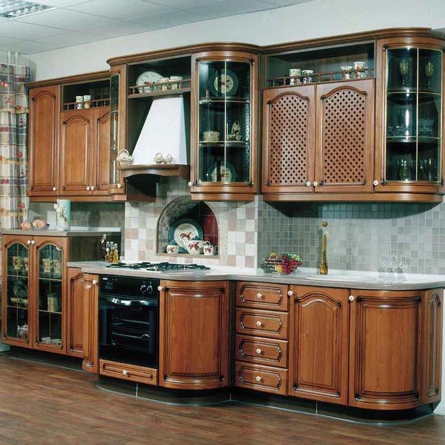классическая кухня в студию